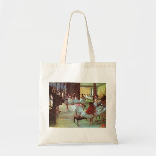 Edgar Degas - Ballet 1879-80 Shoe Stair Dancer Oil Tote Bag