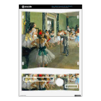 Edgar Degas - Ballet Class Decals For The Xbox 360 S