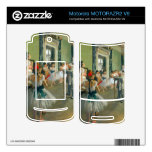 Edgar Degas - Ballet Class MOTORAZR2 V9 Skin