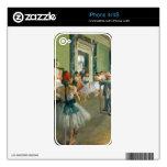 Edgar Degas - Ballet Class Skins For The iPhone 4S