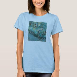 Edgar Degas - Ballet Dancers in Wings 1900 Pastel T-Shirt