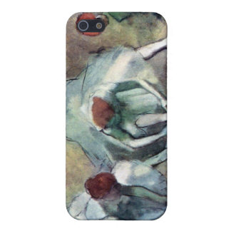 Edgar Degas - Ballet Dancers Tying Shoes Cover For iPhone SE/5/5s