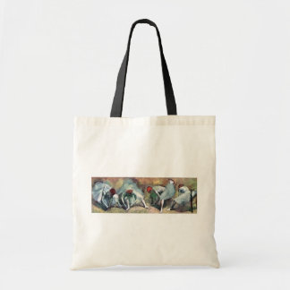 Edgar Degas - Ballet Dancers Tying Shoes Tote Bag