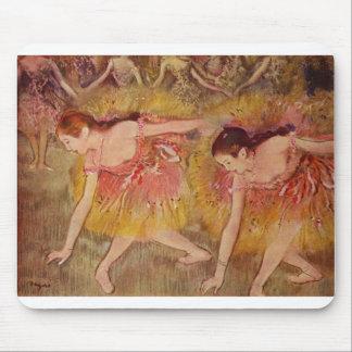 Edgar Degas - ballet de los chicas de los bailarin Tapete De Ratón
