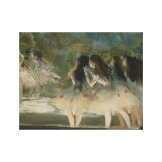 Edgar Degas - ballet en la ópera de París Impresión En Lienzo