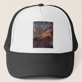 Edgar Degas - Ballet from loge 1885 Pastel Dancers Trucker Hat
