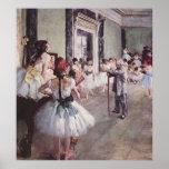 Edgar Degas Ballet Lesson Posters