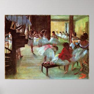 Edgar Degas - Ballet Posters