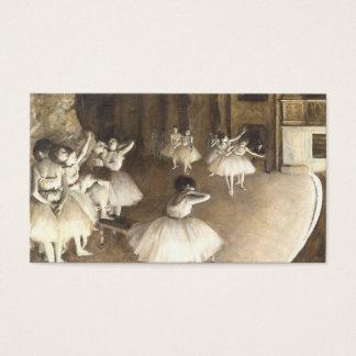 Edgar Degas | Ballet Rehearsal Business Card