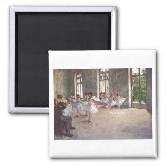 Edgar Degas - Ballet Rehearsal Class 1873 oil Magnet