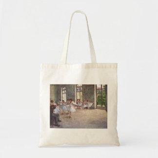 Edgar Degas - Ballet Rehearsal Class 1873 oil Tote Bag