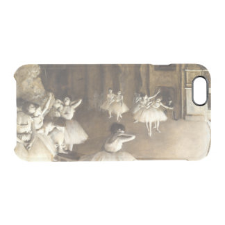 Edgar Degas   Ballet Rehearsal On Stage Clear iPhone 6/6S Case