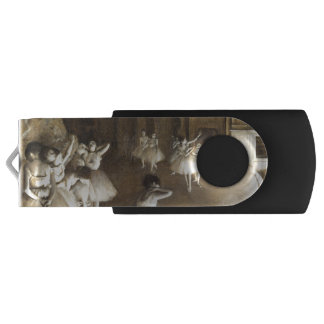 Edgar Degas | Ballet Rehearsal On Stage USB Flash Drive