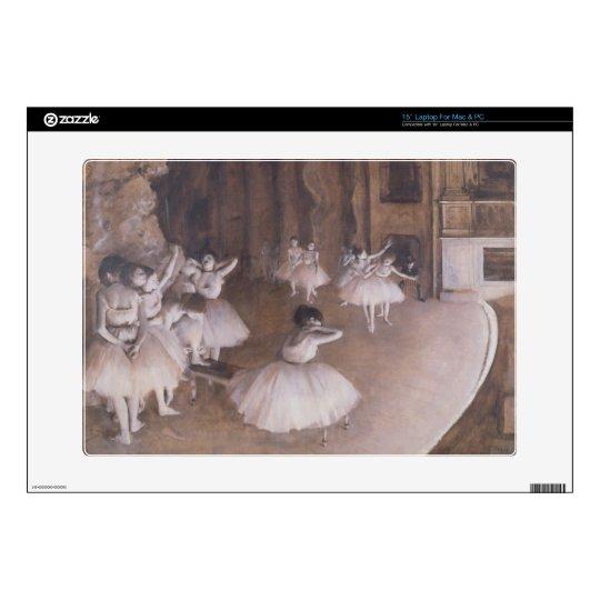 "Edgar Degas | Ballet Rehearsal on the Stage, 1874 15"" Laptop Decal"