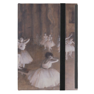 Edgar Degas | Ballet Rehearsal on the Stage, 1874 Cover For iPad Mini