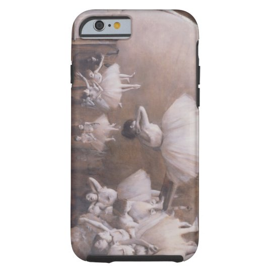 Edgar Degas | Ballet Rehearsal on the Stage, 1874 Tough iPhone 6 Case