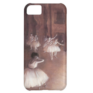 Edgar Degas Ballet Rehearsal On The Stage Cover For iPhone 5C