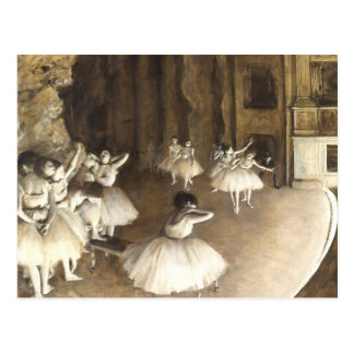 Edgar Degas | Ballet Rehearsal Postcard