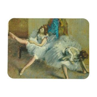 Edgar Degas   Before the Ballet, 1890-1892 Magnet