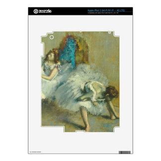 Edgar Degas   Before the Ballet, 1890-1892 Skin For iPad 3