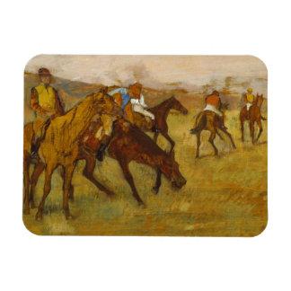 Edgar Degas - Before the Race Magnet