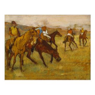 Edgar Degas - Before the Race Postcard
