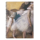 Edgar Degas Before The Rehearsal Notebook