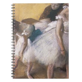 Edgar Degas Before The Rehearsal Spiral Note Books