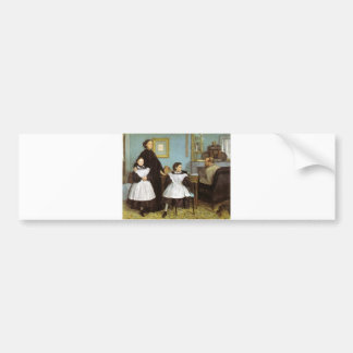 Edgar Degas - Bellelli Family Bumper Sticker