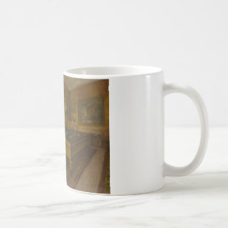 Edgar Degas – Billiard Room at Menil-Hubert Coffee Mug