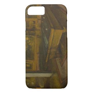 Edgar Degas - Billiard Room at Menil-Hubert iPhone 8/7 Case