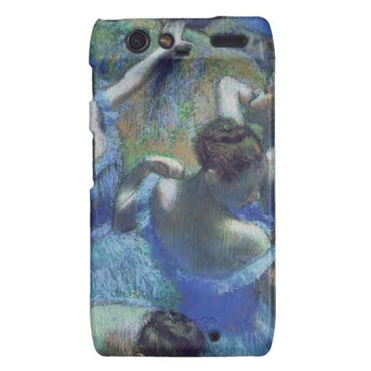 Edgar Degas | Blue Dancers, c.1899 Droid RAZR Cover