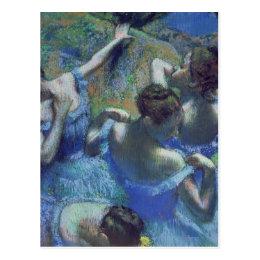 Edgar Degas | Blue Dancers, c.1899 Postcard