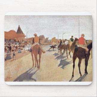 Edgar Degas - caballo magnífico del soporte de los Tapete De Raton