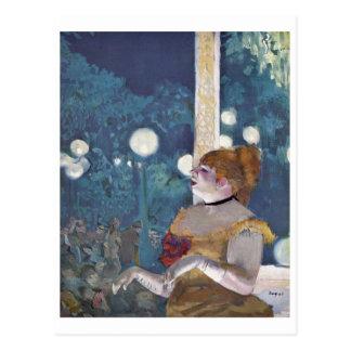 Edgar Degas - canción del concierto del café del Postales