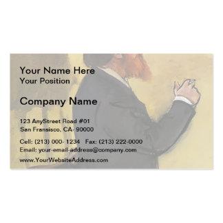 Edgar Degas: Carlo Pellegrini Double-Sided Standard Business Cards (Pack Of 100)