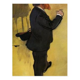 Edgar Degas: Carlo Pellegrini Postcard