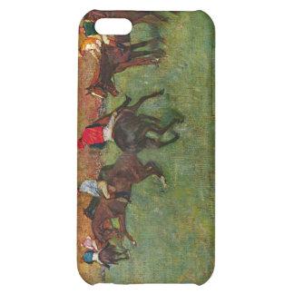 Edgar Degas - carrera de caballos antes del comien