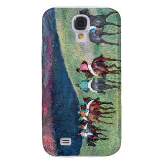 Edgar Degas - carrera de caballos - el entrenamien Funda Para Galaxy S4