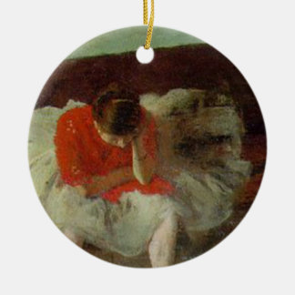 Edgar Degas Ceramic Ornament