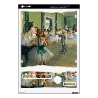 Edgar Degas - clase del ballet Calcomanías Para Xbox 360 S