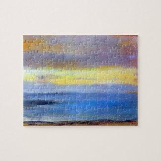Edgar Degas - Coastal strip at sunset Puzzle