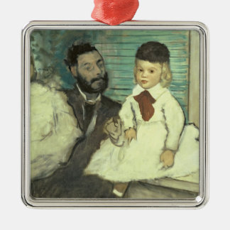 Edgar Degas | Comte Le Pic and his Sons Metal Ornament