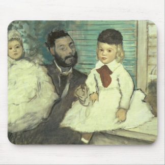 Edgar Degas | Comte Le Pic and his Sons Mouse Pad