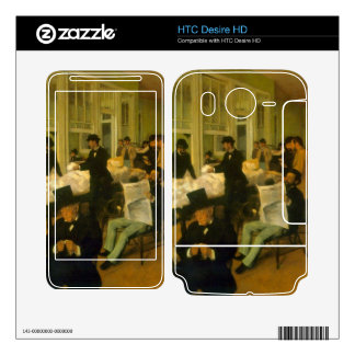 Edgar Degas - Cotton Exchange Decal For HTC Desire HD