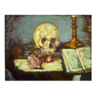 Edgar Degas - cráneo Postales