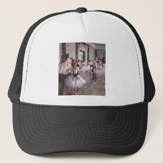 Edgar Degas - Dance Class 1875 oil canvas dancers Trucker Hat