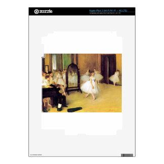 Edgar Degas - Dance Class iPad 3 Decals