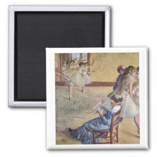 Edgar Degas - Dance Class Madame Cardinal 1878 oil Refrigerator Magnets