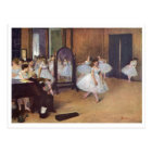 Edgar Degas - Dance Hall 1872 dancer ballerina oil Postcard